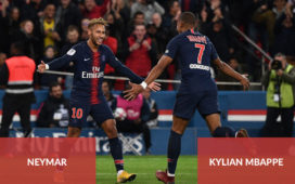 Kylian Mbappe and Neymar, attack