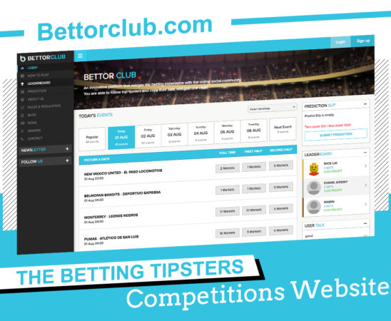 Bettorclub.com The Betting Tipsters Competitions Website