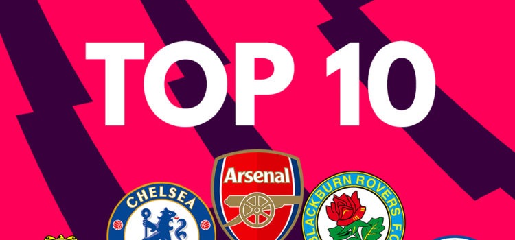 Top 10 English Premier Leagues